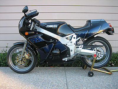 1990 Yamaha FZR400 For Sale Craigslist Side View