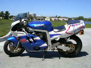 1992 Suzuki GSXR-400RR For Sale Side View