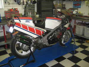 Well Maintained 1985 Yamaha RZ500 For Sale in Seattle - Rare