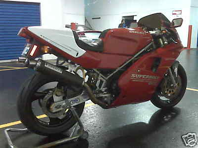 Ducati 888 For Sale with Fast by Ferracci Exhaust