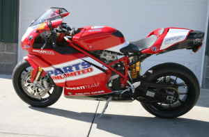 2007 Ducati Team USA Limited 999S Parts Unlimited