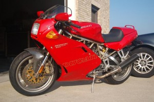 1997 Ducati 900SS/SP For Sale with 900 miles