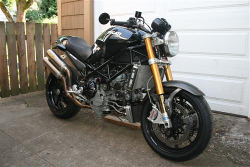 2007 Ducati S4RS Monster For Sale with SpeedyMoto hardware