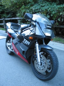 1989 Yamaha TZR 250 3MA For Sale in Canada1989