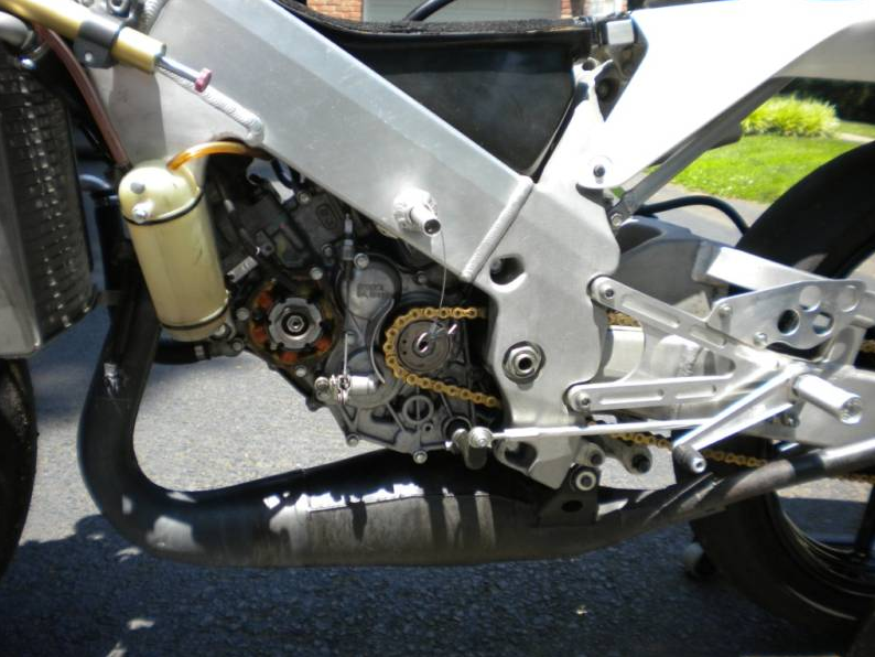 1996 Honda Rs125 Engine Right Side
