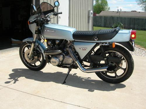 First Of The Turbo Bikes 1978 Kawasaki Z1r Tc Rare