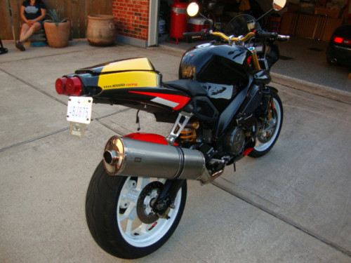 Before The RSV4: 2003 Aprilia Tuono