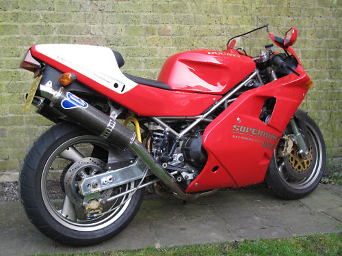 Heck With The Wedding 1995 Ducati 888 Sp5 In The Uk Rare