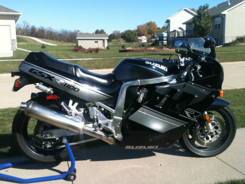 early liter bike monster 1990 suzuki gsx r 1100 rare sportbikes for sale. Black Bedroom Furniture Sets. Home Design Ideas