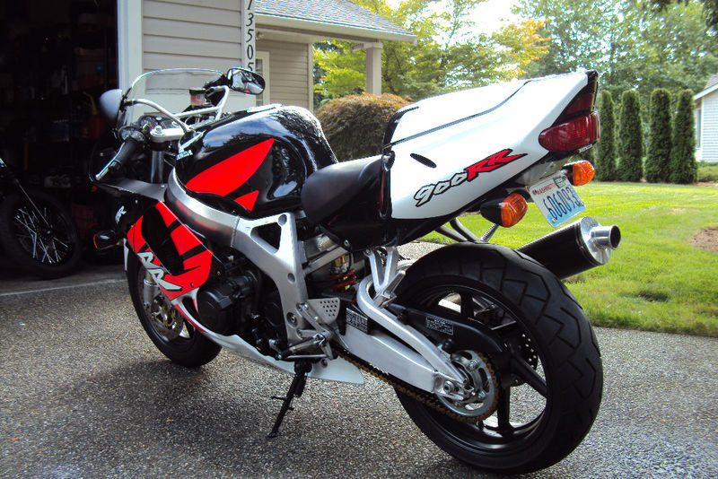 1999 Honda Cbr900rr With 2 000 Miles For Sale