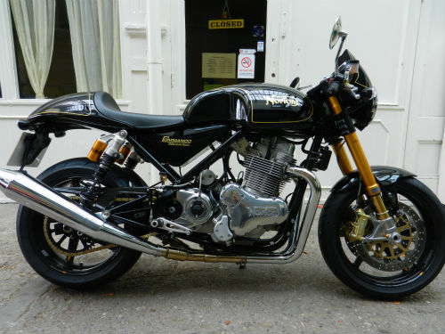 2011 Norton Commando 961 Cafe Racer. Last ...
