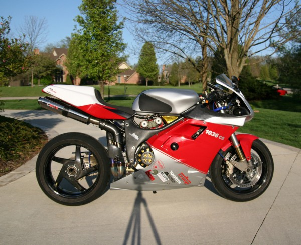 Alex Ortner Ducati 1036CS For Sale