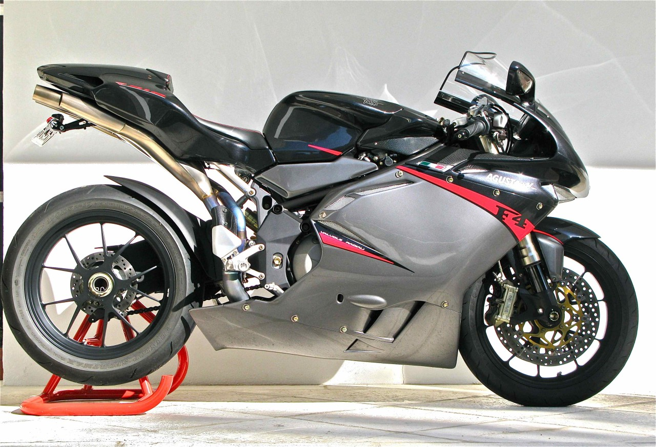 Nearly new, nearly perfect: 2008 MV Agusta F4 312R