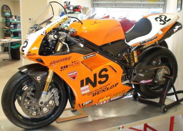 Ducati 996RS Troy Bayliss For  Sale