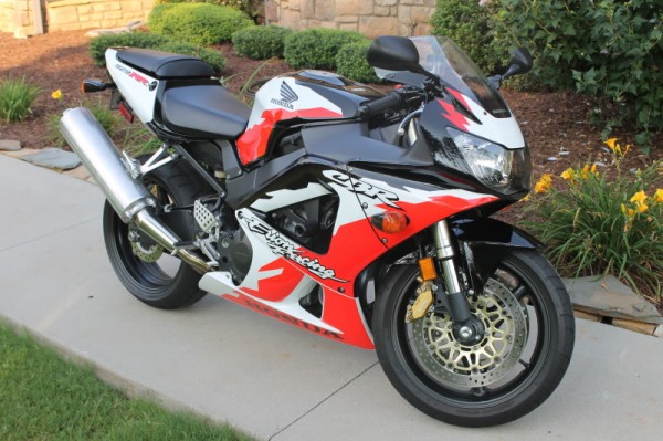 2001 Honda CBR929RR Erion Racing edition For Sale