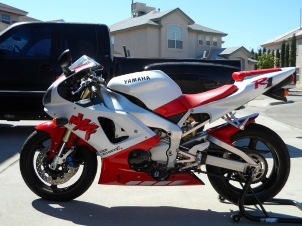 1998 Yamaha R1 For Sale Red White