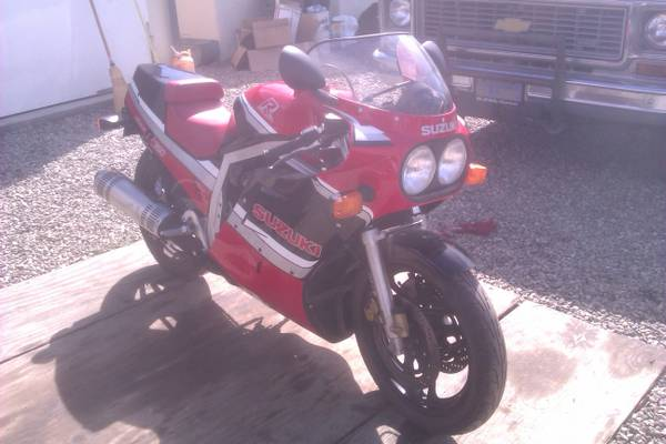 1986 Suzuki GSX-R 750 For Sale with 600 Miles