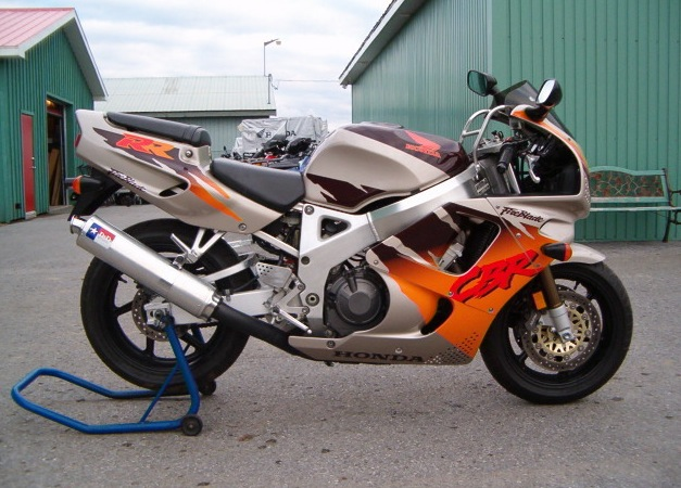 '95 CBR900RR- It's GRRRRRRREAT!