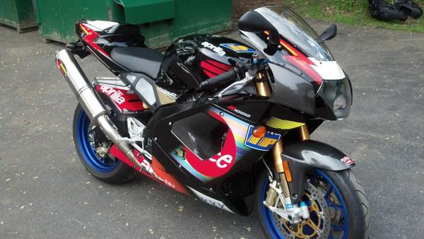 2003 Aprilia RSV Mille R Colin Edwards #50 Available in New York