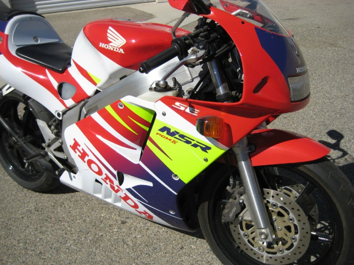 More Two-Stroke Heaven: 1996 Honda NSR250SE