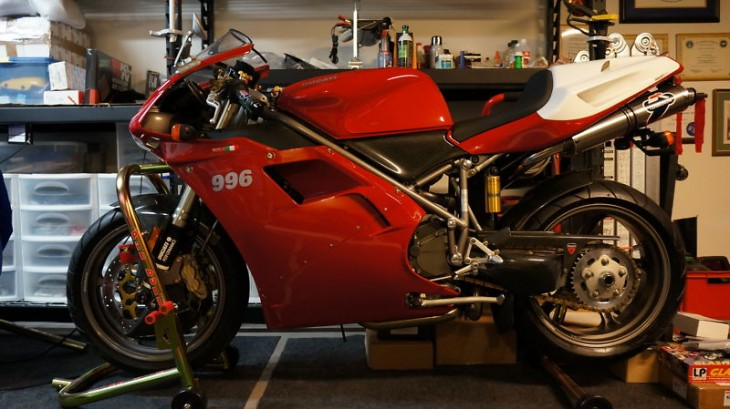 Immaculate 2000 Ducati 996S #243 with just 2300 Miles!