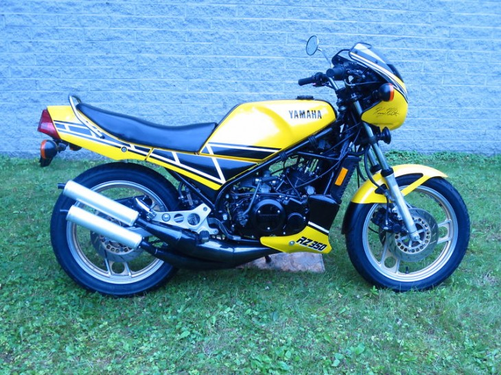 In Time for Barber:  1984 Yamaha RZ350 Kenny Roberts