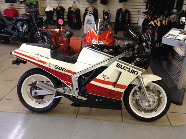 1986 Suzuki RG500 Lance Gamma For Sale