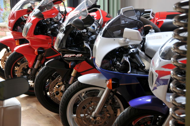 Instant Honda Sportbike Collection:  RC30, RC45, RC51 SP1 & SP2, CBR400RR, VFR400R, CBR900RR, CB1100R and More!