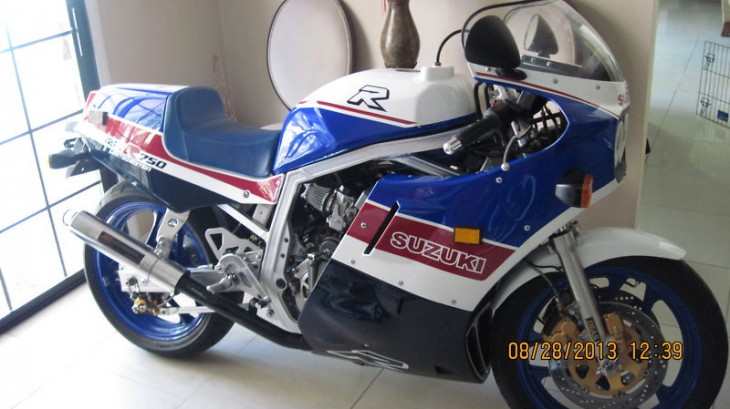 You Asked For It:  1986 Suzuki GSX-R750 Limited