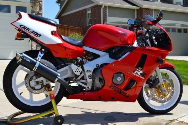 Vertically Challenged?  1993 Honda CBR400RR