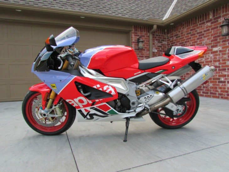 Not For The Shy:  2007 Aprilia RSV1000R Bol d'Or