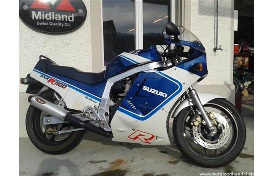 Blast From The Past: 1987 Suzuki GSX-R1100 (in Switzerland)