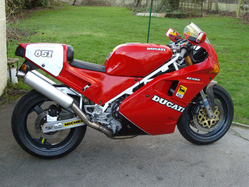 Sport Production Mark 3: Ducati 851 SP3