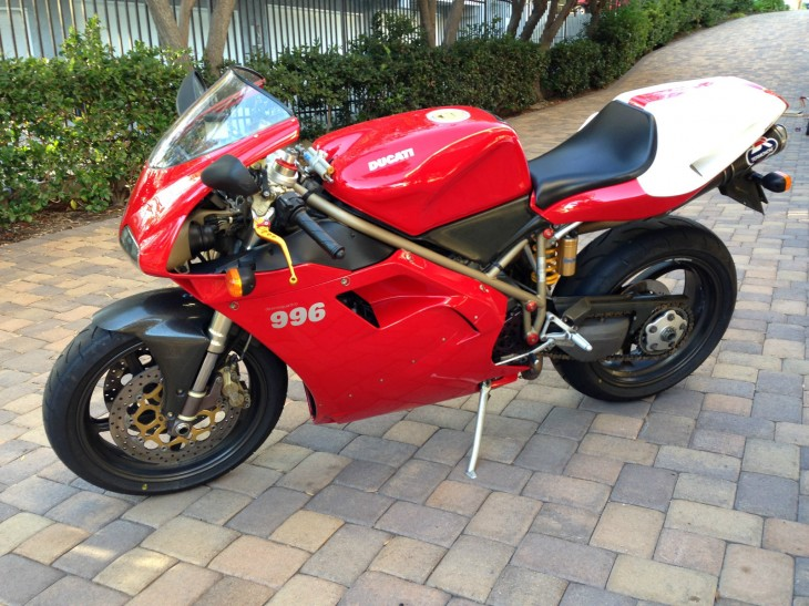 1999 Ducati 996SPS #388 Available in California