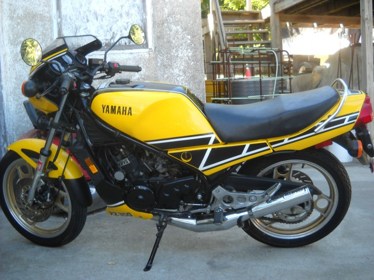 Even Kenny would approve: 1984 Yamaha RZ350