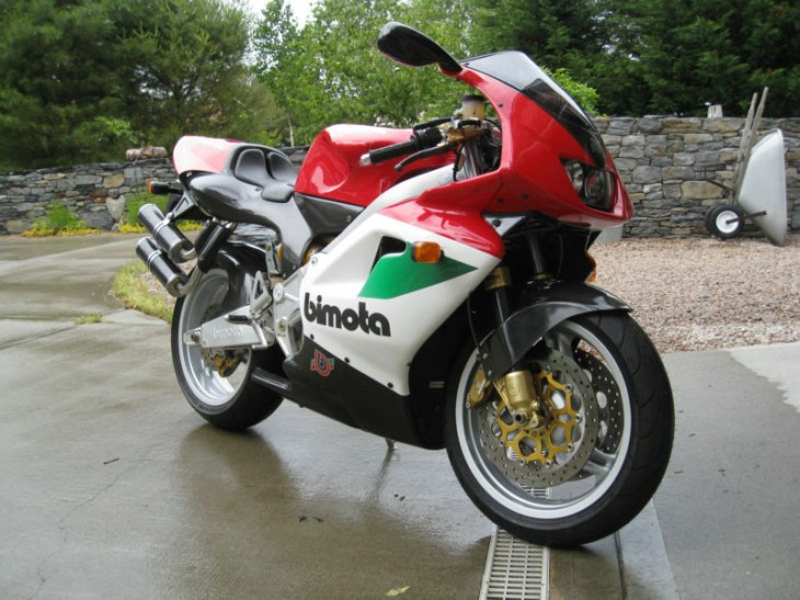 Good From Far, Far From Good?  1998 Bimota V-Due