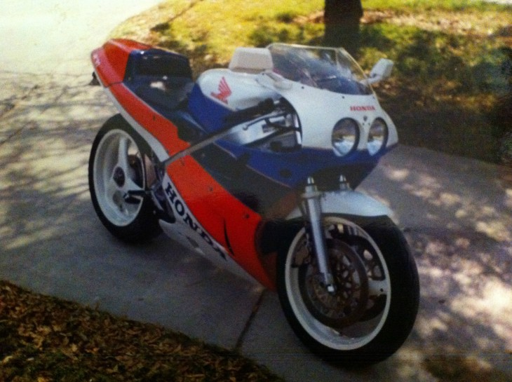 Money Pit? Headache? Great Deal?  1990 Honda VFR750R RC30 Project