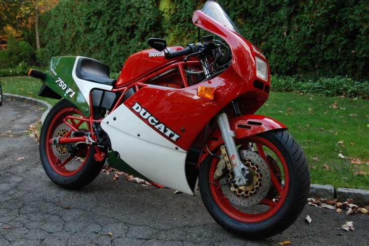 One Owner 1986 Ducati 750 F1 with just 1500 Miles!