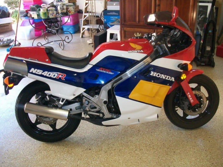 1986 Honda NS400R available in Texas