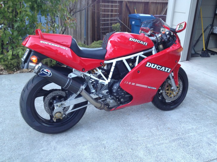 1992 Ducati 900SS with Low Miles and the Right Stuff