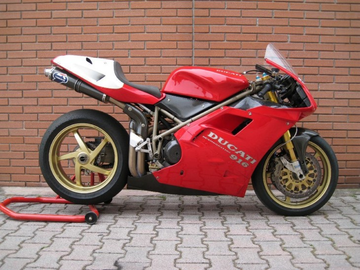 Really Sexy: 1997 Ducati 916RS Factory Racer