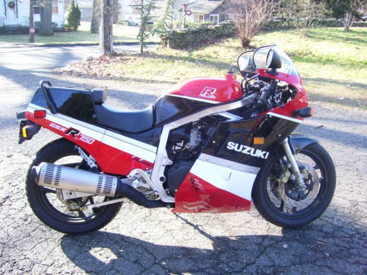 Relist 2: Stunning 1987 Suzuki GSX-750R with 700 Miles available in Florida
