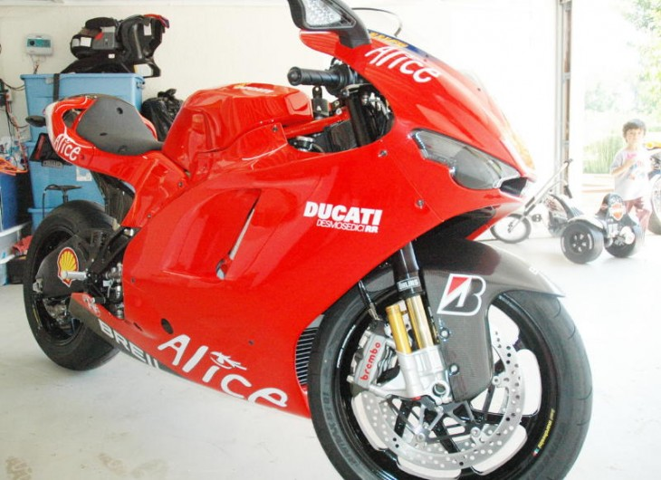 Price Reduced!  2008 Ducati Desmosedici with just 27 Miles!