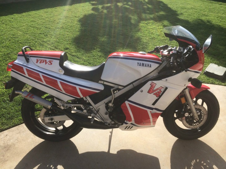 30 Years Young: 1984 Yamaha RZ500 in San Diego