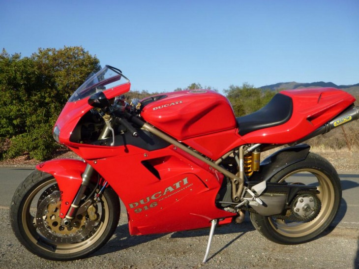 Featured Listing:  One Owner 1995 Ducati 916 available in California