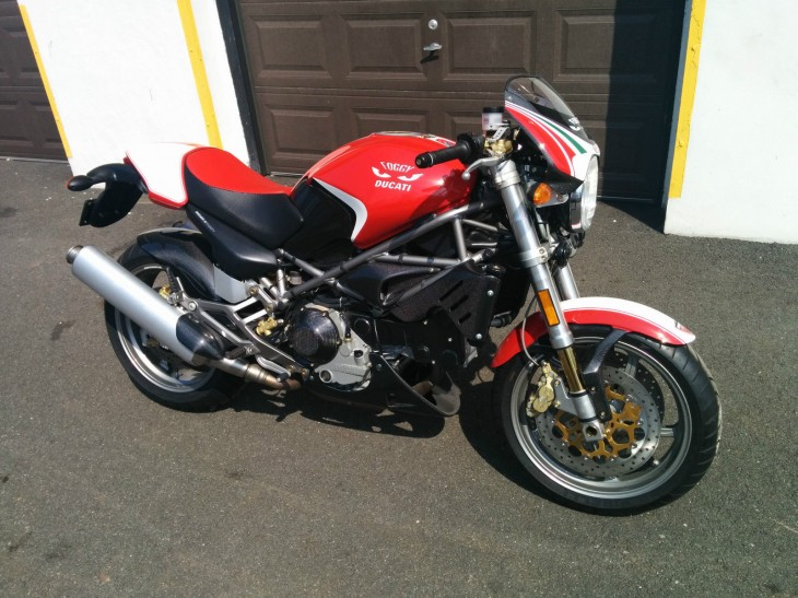 2002 Ducati Monster Fogarty Edition For Sale