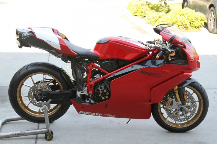 Double Triple Play:  2005 Ducati 999R times two!