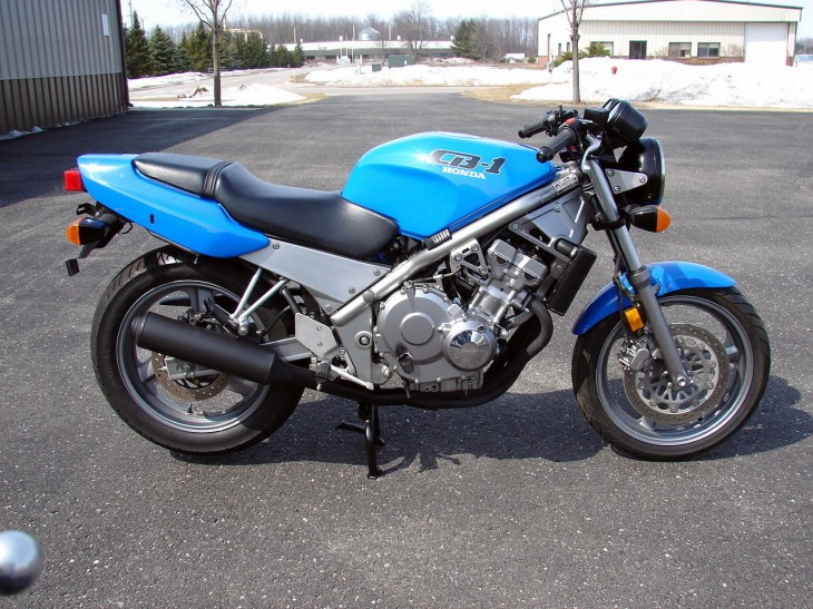 1989 Honda CB1 NC27 with 1400 Miles