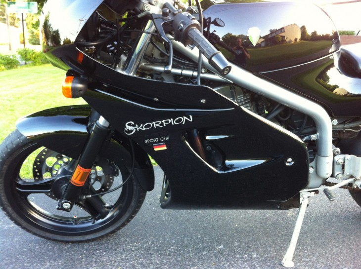 1997 MZ Skorpion Cup L Side Close