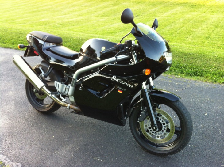 1997 MZ Skorpion Cup R Side Front